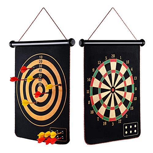 DUYER Dartset, Dartscheibe Magnet Set, Professionelle Spiel Dart Spielzeug Kinder Magnetische Zweiseitige Dart Set Home Fitness
