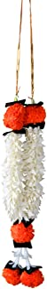 Aditri Creation White Flower Marigold Mala