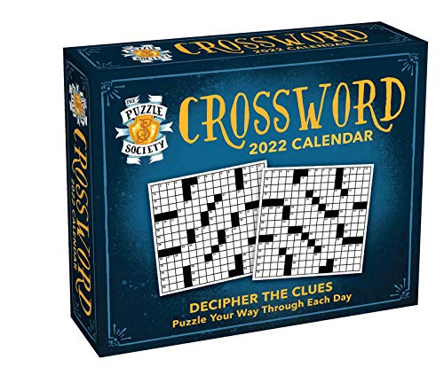 The Puzzle Society Crosswords 2022 Day-to-Day Calendar