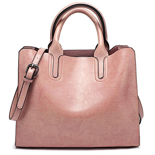 Material: High Quality Faux Leather + Fine Ployester Lining Dimensions: 12.5 x 4.7 x 9.8inches (L x W x H), Height of Handle: 11cm,It is a middle size bag ,not suitable fo rbig things.(Manual measurement, there will be a little error) ,It can easily ...
