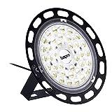 100W UFO LED Luz de Bahía Alta Iluminación, 10000LM Ultra Brillante UFO LED Iluminación Comercial Lámpara Alta Bahía, Lámpara Industrial Focos Led de Techo para Fábricas Almacén Aeropuerto