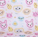 Wooju.Corporation AFFE und Freunde Cotton Ripple Fabric 51
