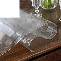 防水PVCテーブルクロス,テーブルカバー使い捨てオイル-台所のための証拠ダイニングリビングルームオフィスワークスペースコーヒーテーブルとデスク-