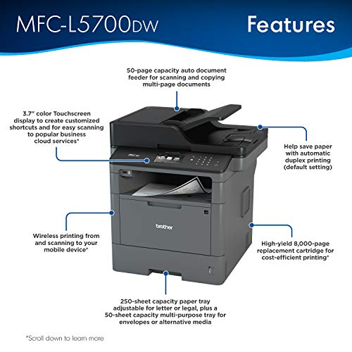 Key Features of the Brother MFC-L5700DW Printer