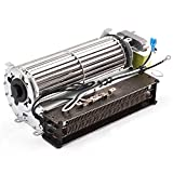 BBQ-Element Replacement Fireplace Blower Fan with Heating Element for Twin Star Electric Fireplace and Other Wood/Gas Burning Stove or Fireplace.