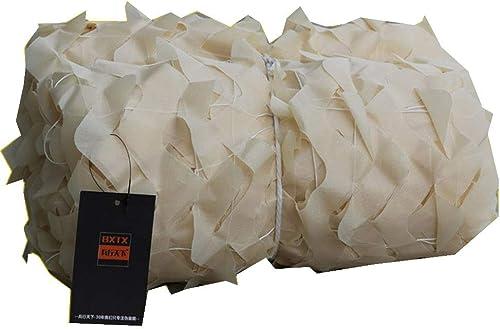 Filet d'ombrage QINGJIU Filet de Camouflage Beige, Bord de Prougeection Contre Le Soleil écran de Prougeection Solaire Tente de Toit Filet de Prougeection de Peau (Taille   3x6M)