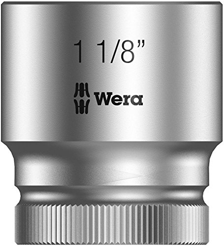 Wera 8790 HMC Zyklop-Steckschlüsseleinsatz mit 1/2 Zoll-Antrieb, 1 1/8 Zoll, 05003633001