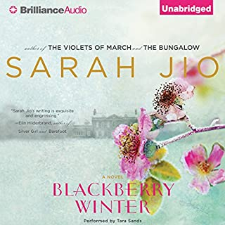 Blackberry Winter audiobook cover art