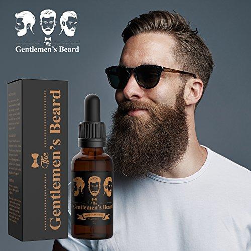 Conditionneur et huile pourlisser et adoucir votre barbe de The Gentlemen's Beard - Pour une barbe...