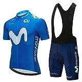 HXXBY 2021 Ciclismo Jersey Tour de France Team Squadra Ciclismo Camicia da Ciclismo Uomo Maglia da Ciclismo Asciugatura Rapida Asciugatura Asciugatura Asciuga (Colore : Figure 11A, Dimensione : M)