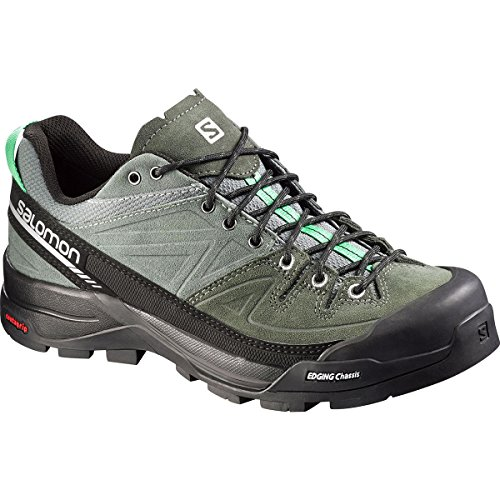SALOMON Damen L37926500 Trekking- & Wanderhalbschuhe, Light Tt Night Forest Jade grün, 40 2/3 EU