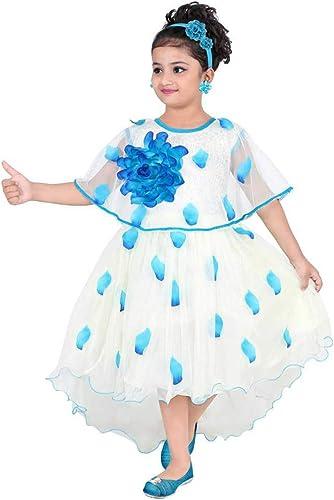 Sajgoj Girls Net Dress
