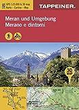 KOKA121 Kombinierte Wanderkarte Meran und Umgebung - GPS kompatibel - Maßstab 1:25.000 (Kombinierte Sommer-Wanderkarten Südtirol) (Kombinierte ... / Topografische Karte + 3D-Panoramakarte)