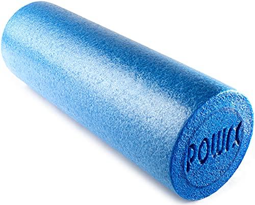 Rodillo ideal para ejercicios de automasaje, estiramientos, relajación y descanso muscular – Indicado también para ejercicios de yoga, pilates, gimnasia y rehabilitación – Rulo fabricado en poliestireno expandido que garantiza resistencia y durabilidad – Foam Roller (45 x 15 cm)