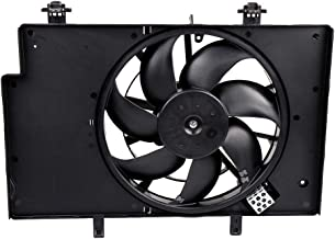 Best SCITOO Condenser Radiator Cooling Fan Assembly FO3115186 Compatible with 2011 2012 2013 2014 2015 2016 2017 for Ford Fiesta Review