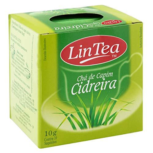 Zitronengras-Tee, Karton mit 10 Beutel, 10g. - Chá de Capim Cidreira LINTEA