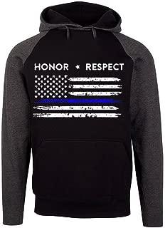thin blue line hoodie uk