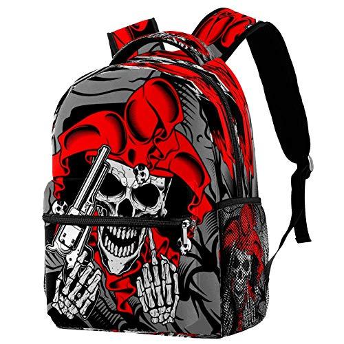 The Bulldog Famliy - Mochila escolar para viaje, diseño de mochila, estampado 3, Talla única, Mochila de a diario