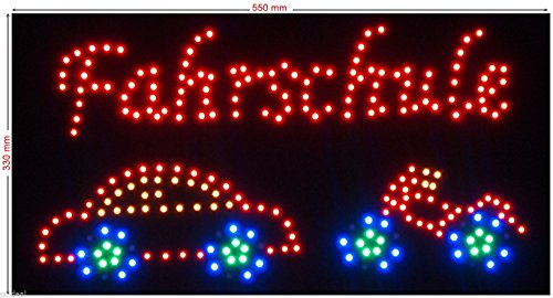 C&K LED Schild XL