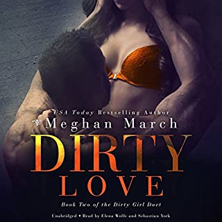 Dirty Love audiobook cover art