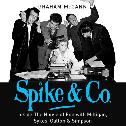 Spike & Co. audiobook cover art