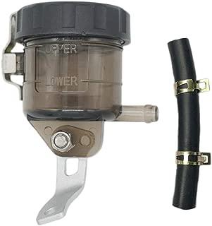 SYUU Motorcycle Front Brake Master Cylinder Brake Pump Tank Oil Cup Fluid Bottle Reservoir w/Bracket For Suzuki GSXR 600 GSXR 750 GSXR 1000 2006 2007 2008 2009 2010 up