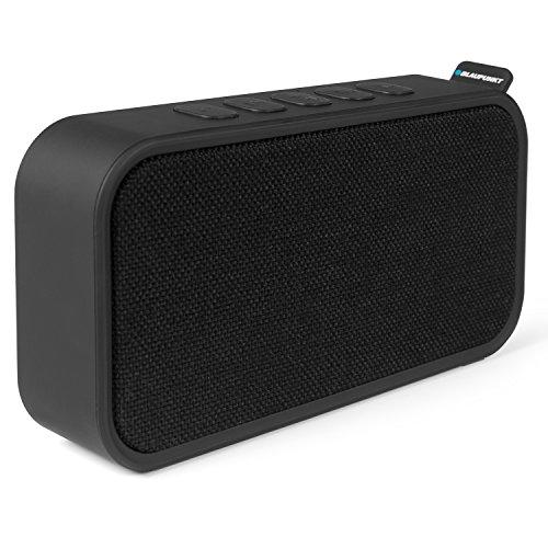 Blaupunkt BTR 60 Bluetooth Lautsprecher und PLL UKW Radio | tragbares mini FM Radio | Mirco SD & Aux In inkl. Kabel | kleines Badezimmer und Küchenradio | integrierter Akku | Freisprechfunktion