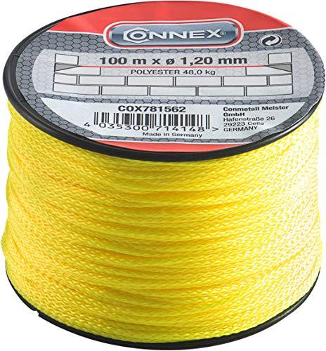 Connex metselsnoer 1,2 mm-100 m neongeel, COX781562