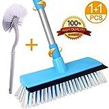 Best Floor Scrub Brushes - Floor Scrub Brush with Toilet Brush,Deck Brush Review