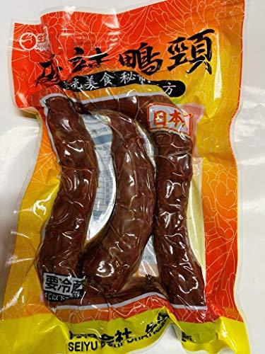 麻辣??2個 日本国産熟食 麻辣鴨頚3本入り お得な大人気麻辣鴨頚 2種類商品お任せで発送致します. 大人気酒のつまみ中華食品 中華物産 味付け肉 クール便のみの発送