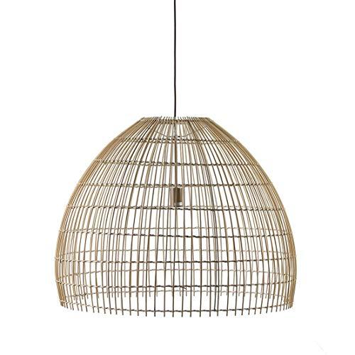 Els Banys 09077527 Lámpara de Techo Toscana, Mimbre