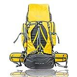 TRAWOC 60 Ltrs Rucksack (Yellow)