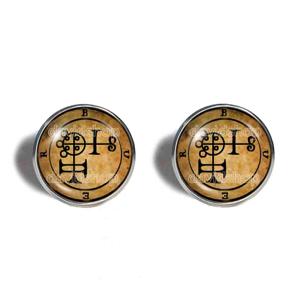 Seal Sigil Sale price Of Buer Now free shipping Earrings Ear Cuff Fashion Key Lesser Jewelry