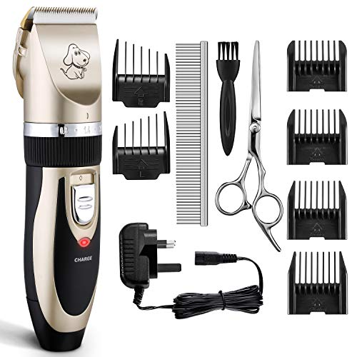 Dog Clippers, OMORC Cat Hair Trimmer Low Noise |...