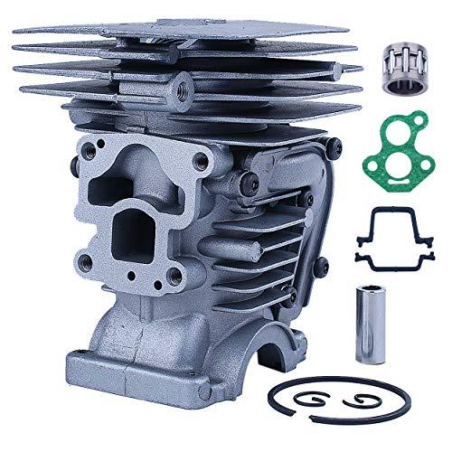 Mtanlo Kit de pistón de cilindro para motosierra Husqvarna