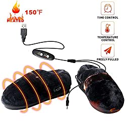 usb heated slippers