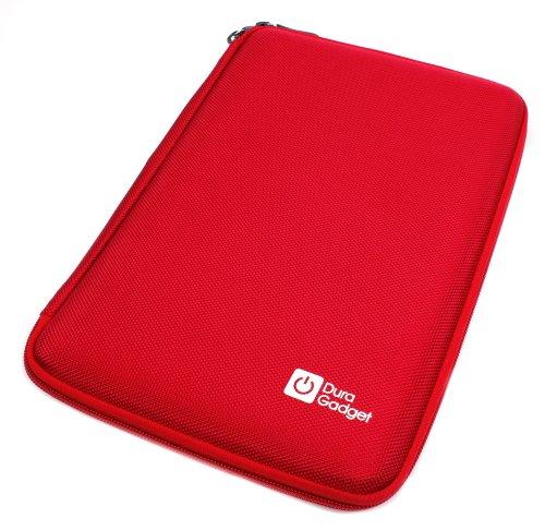 DURAGADGET Custodia Rigida per IROPRO Tablet per Bambini TLK-01 - con Tasca Interna - Rossa