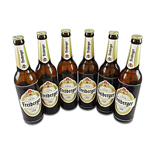 Freiberger Pils (6 Flaschen à 0,5 l / 4,9% vol.)