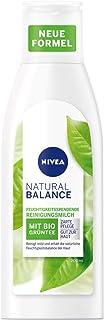 NIVEA Natural Balance reinigingsmelk (200 ml), gezichtsreiniging met groene thee en waardevolle koolzaadolie, reinigingsme...
