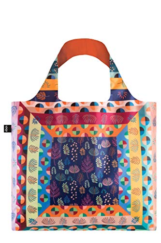 LOQI Artist Hvass & Hannibal Maze Bag Strandtasche, 50 cm, 20 liters, Mehrfarbig (Multicolour)