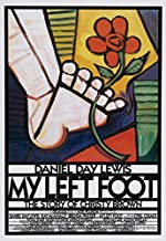 FXPoster My Left Foot Movie Daniel Day-Lewis Poster Prints Wall Art Decor Unframed,32x22 16x12 Inches,Multiple Patterns Available