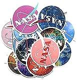 ZJJHX Van Gogh Stickers NASA Star Decals Stickers Trolley de Viaje Pegatinas de Coche Personalizadas Pegatinas de rascar Creativo 12