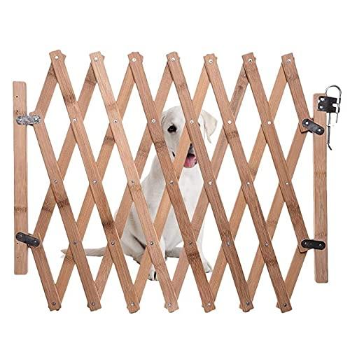 Rubuiz Extra breites 18-Zoll-hohes Hundegitter zum Durchgehen, freistehendes Drahtgitter für Haustiere für das Haus, Türöffnung, Treppe, Sicherheitszaun für Hundewelpen, Stützfüße enthalten