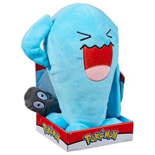 Pokemon 96372 Wobbuffet-Plüsch-Spielzeug, Mehrfarbig, 12-Inch