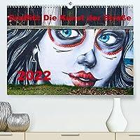 Graffiti: Die Kunst der Strasse (Premium, hochwertiger DIN A2 Wandkalender 2022, Kunstdruck in Hochglanz): Graffiti, auch Streetart genannt, ist eine nicht kommerzielle Form von Kunst im oeffentlichen Raum. (Monatskalender, 14 Seiten )