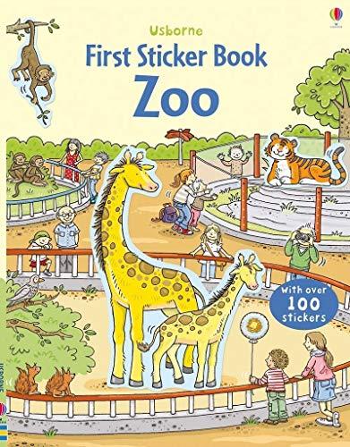 First Sticker Book Zoo (First Sticker Books series)