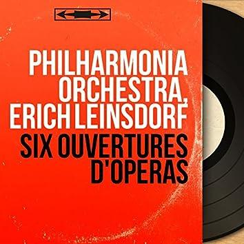 Six ouvertures d'opéras (Stereo Version)