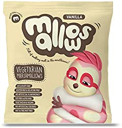 Mallows Vanilla Vegetarian Marshmallow, 75g