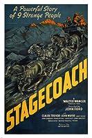 ジョンフォードSTAGECOACH1939映画ポスター24X36平行輸入