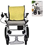 GQQ Wheelchairs,Foldable Electric Power Wheelchair, Lightweight and Durable Powerchair for Adults, Fits Any...